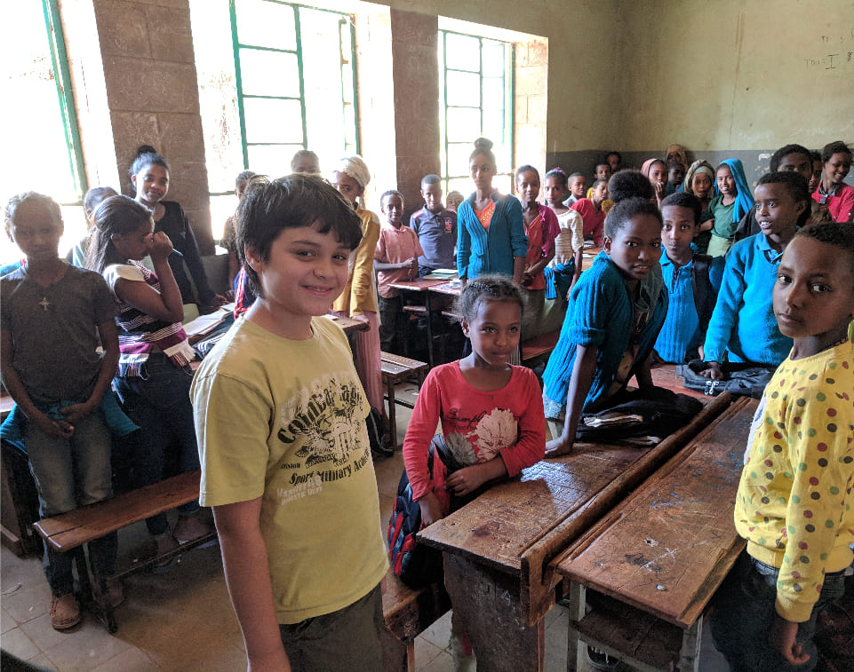 Visiting Woliso Liben School Ethiopia