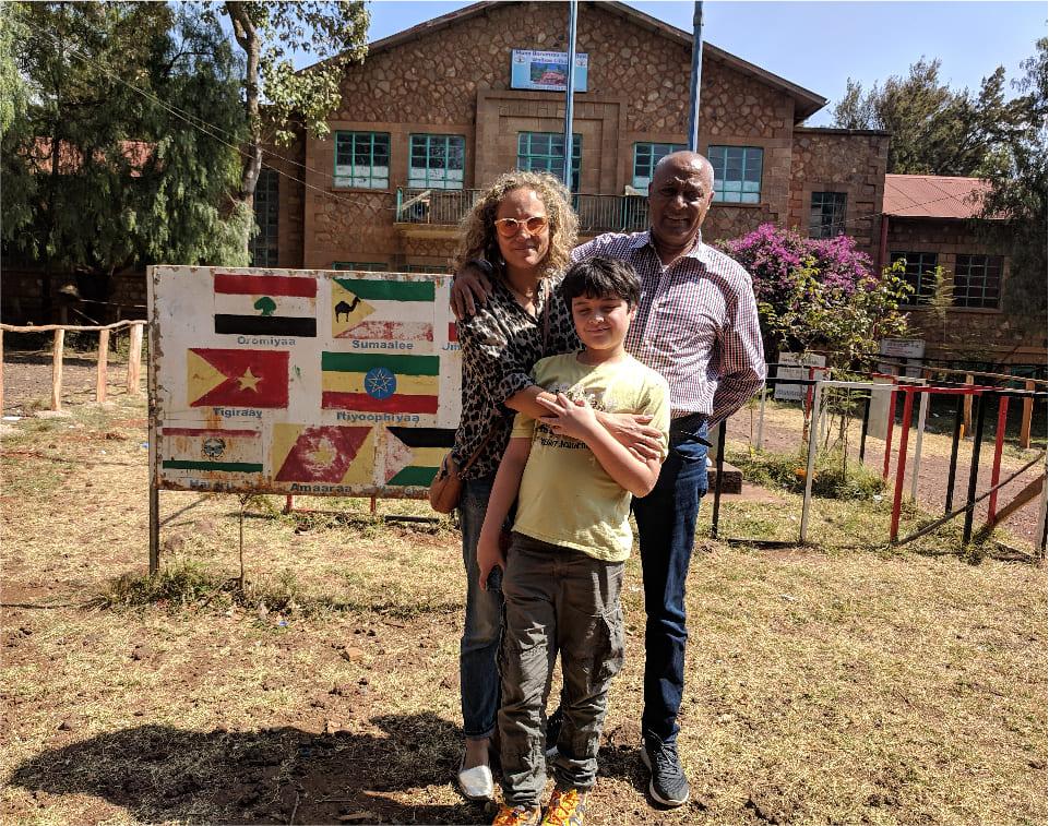 Family project in Ethiopian School Woliso